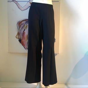 ARMANI Collezioni Wide Leg Dress Pants